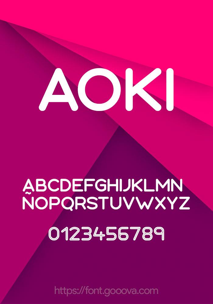 Aoki Font
