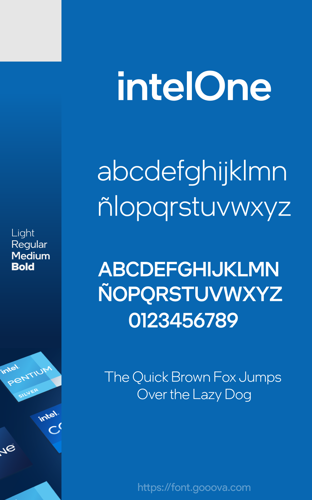 Intel One Official Font